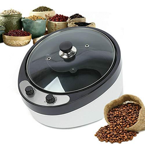 YiWon 1200W Elektrische Kaffeeröster Nuss Röstmaschine Bohnenröster Coffee Roaster 800g