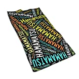 タオル 浜松市 フェイスタオル スポーツタオル ミニバスタオル ビッグフェイスタオル 柔らか肌触り 吸水速乾 40*70CM One Size