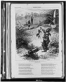 photo: cena di Natale Safe, fatto Cotch lui, coniglio caccia, cibo, Afroamericani ,1874