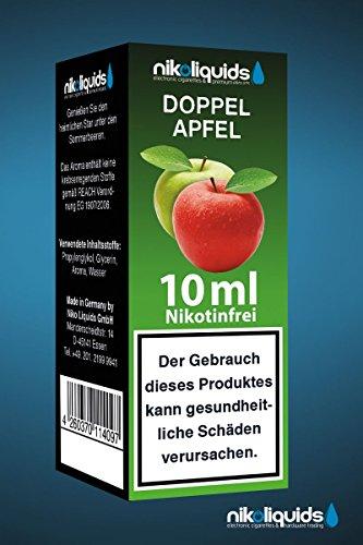 Nikoliquids Doppelapfel 10ml 0mg