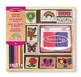Melissa & Doug Friendship Stamp Set | Arts & Crafts | Stamp Sets & Stencils | 4+ | Gift for Boy or Girl