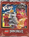 LEGO Ninjago Kai Minifigura #8 Juego de papel de aluminio 892177