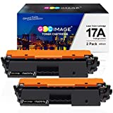 GPC Image Compatible Toner Cartridge Replacement for HP 17A CF217A Toner to use with Laserjet Pro M102w M130nw M130fw M130fn M102a M130a Laserjet Pro MFP M130 M102 Series Printer (2-Black) with Chip