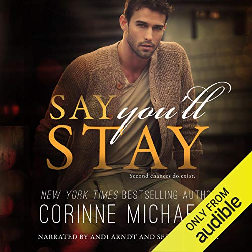 Say You'll Stay audiobook cover art
