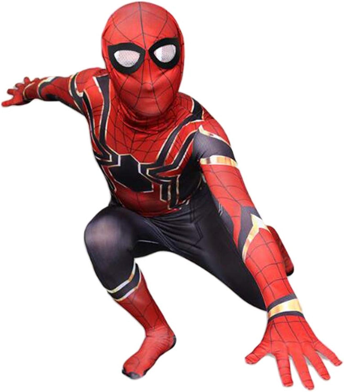GIFT ZHIZHUXIA Spiderhomme Cosplay Costume Avengers 3 Collants siam Accessoires de cinéma pour Adultes Costume Officiel Spiderhomme ( Couleur   rouge , Taille   XL )