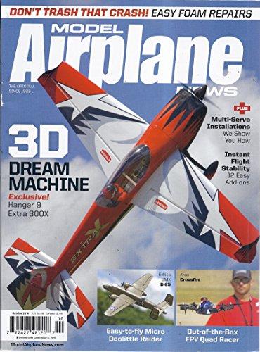 Model Airplane News Magazine (October 2016)