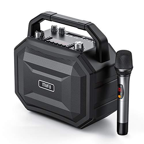 MIFA M520 Party Speaker Altavoz Bluetooth Fiesta 100W Boombox con Función Karaoke,...
