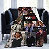 AIMOM Matthew Gray Gubler Blanket Criminal Minds Throw Blanket Flannel Blankets for Couch Bed Living Room 40 X 50 Inch