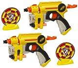 NERF - 62773 - Jeu de tir - 2 pistolets N-STRIKE NITE FINDER EX-3 - Hasbro