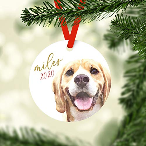 Family Pet Photo Christmas Ornament, Personalized Children's Ornament, Custom Christmas Ornament, Dog Ornament, Cat Ornament Chistmas Tree Decoration