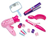 Sophia's 18 Inch Doll Hair Care Set, Pretend Play, 14 Piece Hair Styling Accessories for Dolls (JL-HCS-BC)