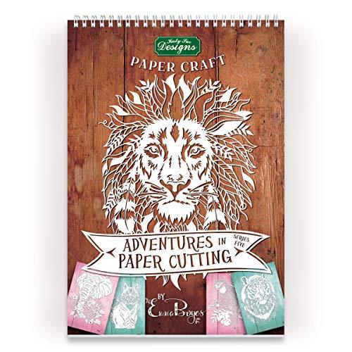 Katy Sue Designs Adventures in Paper Cutting-Series Five Kit per Tagliare la Carta, Nessuno, none