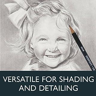 عروض Derwent Graphic Drawing Pencils, Medium, Metal Tin, 12 Count (34214)