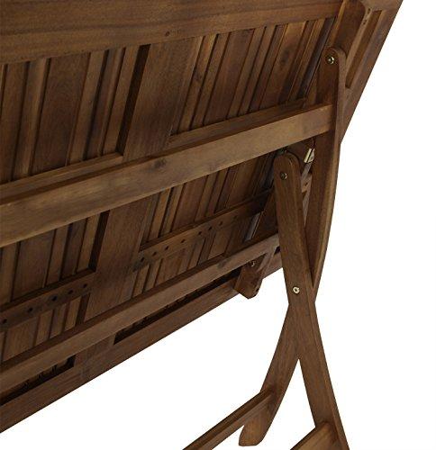 DEGAMO DEGAMO Klapptisch Maracana 70x120cm, Akazie geölt, FSC®-Zertifiziert