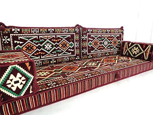 floor seating,floor cushions,arabic seating,arabic cushions,floor sofa,oriental seating,furniture,majlis,jalsa,floor couch,arabic couch - MA 119