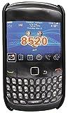 STK 74150 Carcasa de Silicona para Blackberry 8520-negro