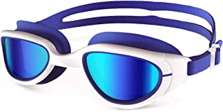 Spinosaurus Swim Goggles for Women & Men Youth Swimming Goggles– No Leaking Anti Fog UV Protection Triathlon Swim Goggles with Easy Adjustable Fit and Free Protection Case for Youth, Or Adult