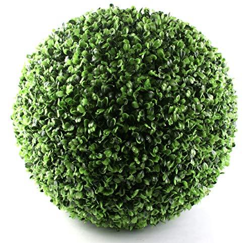 P.Shop Buchsbaum Kugel Buxkugel Kunststoff grün Ø ca. 35/36 cm UV-Safe