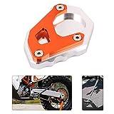 An Xin CNC - Soporte lateral para motocicleta para Adventure 1050 1090 Super Adventure/R 1190 1290 2017, color plateado