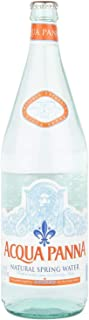 Acqua Panna Natural Mineral Water in Glass bottle - 1 litre (Pack of 12)