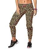 Zumba Fitness la Goza Dera Dale Skinny Sweatpants Pantalones de Mujer, Todo el año, Mujer, Color Bold Black, tamaño Medium