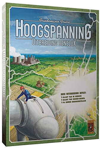 999 Games 999-Hoo02 Hoogspanning: Benelux Bordspel Bordspel, Multikleur