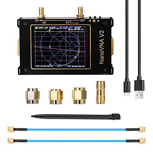InLoveArts Handheld Vektor Netzwerkanalysator 50-kHz-3-GHz-HF-UKW-UHF-Antennenanalysator, aufladbar mit 2000 mAh Kann S-Parameter, Stehwellenverhältnis der Spannung, Phase, Verzögerung, Filter