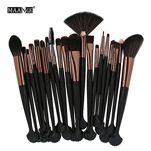 Trousse de beauté pour le maquillage et les coquillages(Tube de café Rod noir)