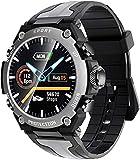 Smart Watch Herren IP68 Wasserdicht Multi-Sport-Modus Fitness Musik Uhr Sport Smart Watch für...