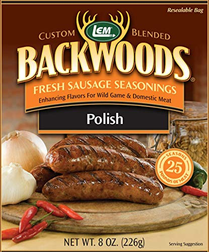 LEM Backwoods Polish Fresh Sausage Seasoning