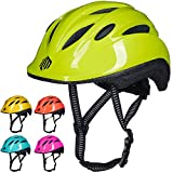 ILM Kids Toddler Bike Bicycle Helmet Girls Boys Baby (Green XX-Small/X-Small)