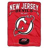 NHL New Jersey Devils 'Inspired' Raschel Throw Blanket, 60' x 80'