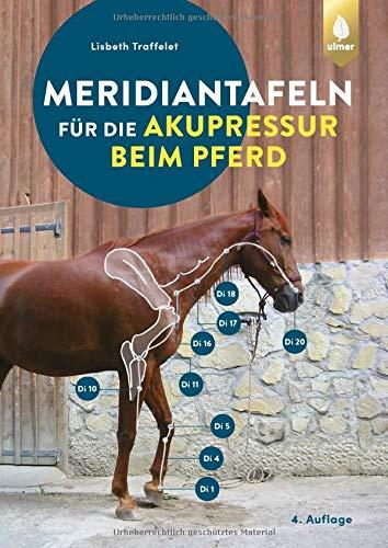 Meridiantafeln für die Akupressur beim Pferd