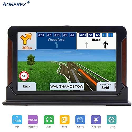 Aonerex - Navegador GPS para coche con pantalla táctil HD de 5 ...
