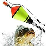 Keepus Automatic Fishing Bobbers Float Bite Fishing Tackle Stainless Steel Hook - Eva Angelposen...