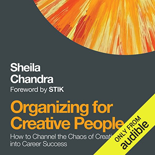 Organizing for Creative People audiobook cover art
