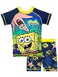 Bob Esponja Bañador de Dos Piezas para niño Spongebob Squarepants Azul 5-6 Años