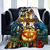 Goo-sebumps Ultra-Soft Micro Fleece Blanket Throw Super Soft Fuzzy Lightweight Hypoallergenic Plush Bed Couch Living Room