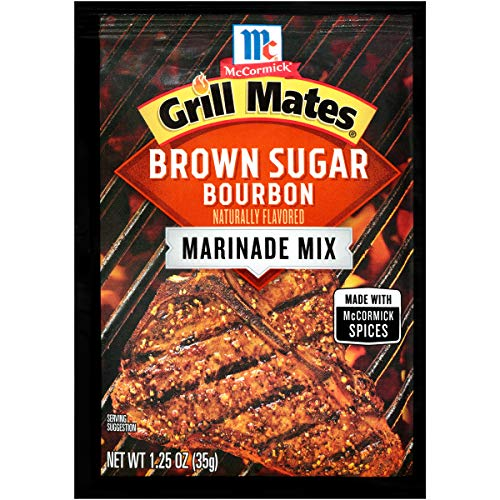 McCormick Grill Mates Brown Sugar Bourbon Marinade, 1.25 oz (Pack of 12)