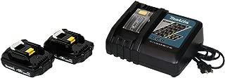 Makita (1) DC18RC Charger & (2) 18 Volt BL1815 Lithium Ion Batteries