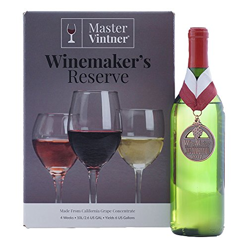 Master Vintner Winemaker's Reserve Pinot Grigio Wine Recipe Kit Makes 6 Gallons