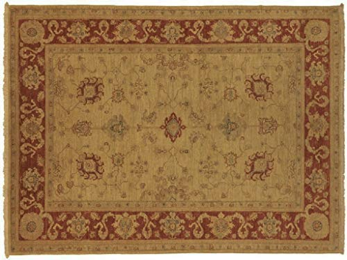 Teppichprinz Chobi-Ziegler 230x160 cm Orientteppich Handgeknüpft Afghanistan Carpet Rug