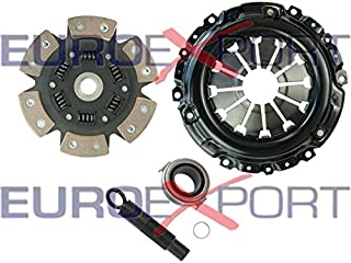 Competition Clutch Disc and Pressure Plate Kit for Honda Acura K20 K24 RSX Ceramic 6 Puck Sprung Stage 4 8037-1620