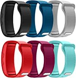 YSSNH Watch Band Compatible with Samsung Gear Fit2/Gear Fit2 Pro,Soft Silicone Accessories Strap Replacement for Samsung Gear Fit2 Pro SM-R365/Gear Fit2 SM-R360 Sports Fitness