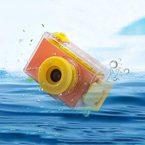 Kriogor wasserdichte Kamera für Kinder, Kids Digitalkamera und Videokamera mit HD 1080/ 8 Megapixel/ 2-Zoll-LCD/ 256M TF-Karte (Rosa)