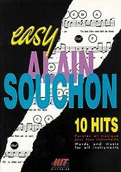 HIT DIFFUSION SOUCHON ALAIN - EASY SOUCHON - PVG Partition variété, pop, rock... Variété française Piano voix guitare