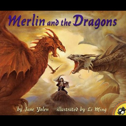 Merlin and the Dragons  audiobook cover art
