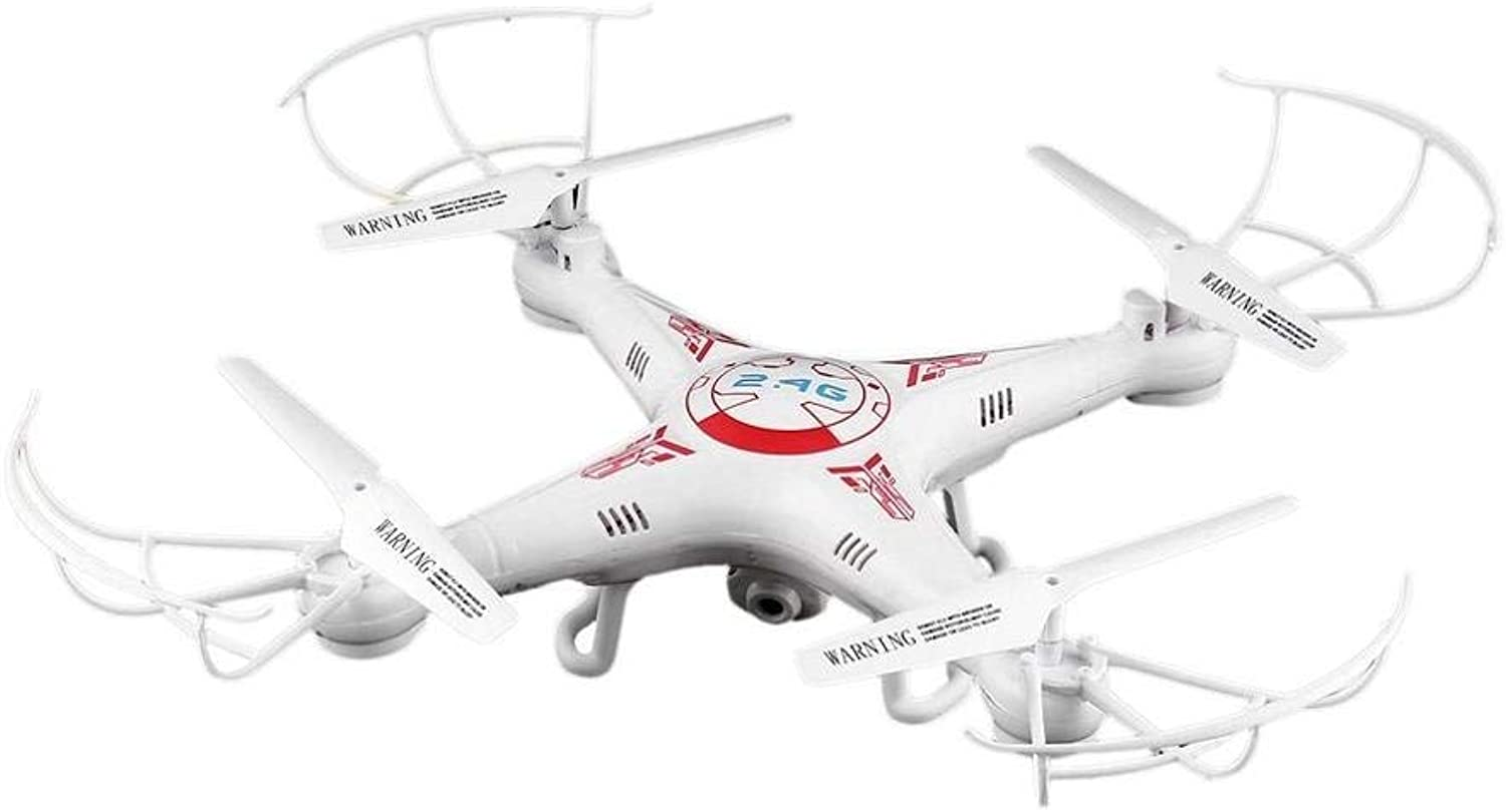 Generic 3MP RC Camera Quadcopter Drone Aircraft Toy Headless Mode Remote Control Helicopter Mini Dron Quadcopter with Gift White