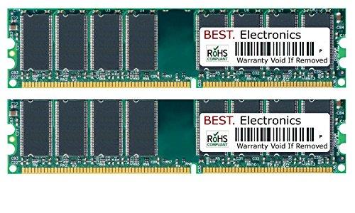 BEST Electronics werkgeheugen voor HP Proliant BL460c Gen8, server-geheugen RAM 32GB Kit (2x 16GB) DDR3 1866MHz, Registere.