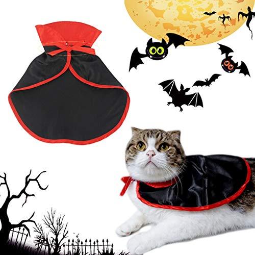 JBPX huisdierkostuum voor Halloween-kostuum, Cosplay, heksen-omhang